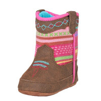 BLAZIN ROXX GIRL'S INFANT CAMILLA BABY BUCKERS BOOT FROM DENNARDS