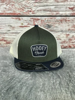 GREEN CREAM MESH TRUCKER