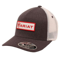 ARIAT PATCH LOGO CAP HGRY