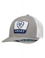 ARIAT MESH CAP GRY/WHT