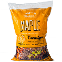 TRAEGER MAPLE BBQ HARDWOOD PELLETS