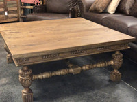 AMER CARVED COFFEE TABLE