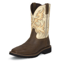 MEN'S JUSTIN STAMPEDE WORK BOOT - FREE SHIPPING