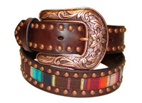 ARIAT SERAPE COPPER STUDDED BELT