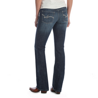 WRANGLER BOOT CUT DARK 'DO' WASH JEANS