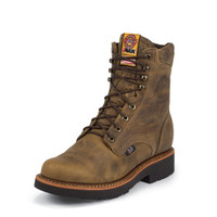 JUSTIN TAN GAUCHO BLUEPRINT WORK BOOT