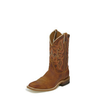 JUSTIN BENT RAIL DISTRESSED COGNAC BOOT
