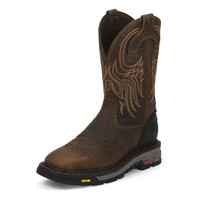 JUSTIN DRISCOLL/BROWN BUFFALO WORK BOOTS