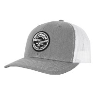 STS HEATHER GREY/WHITE TRUCKER CAP