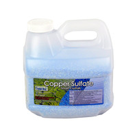 CRYSTAL BLUE COPPER SULFATE CRYSTALS 15LB