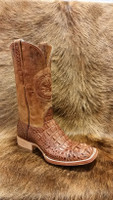 BLACK JACK BURNISHED CIGAR HEAD CUT CAIMAN BOOTS