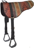 Sierra Herculon Bareback Pad with Stirrups | Cheyenne Hunter