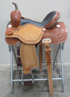 FUTURITY BARREL SADDLE - SEAT 15""