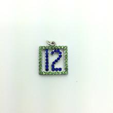 #12 Crystal Pendant 15x15mm