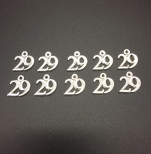 #29 Charm 16x15mm 10 pieces