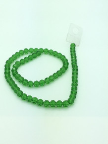 8mm Peridot Faceted Round