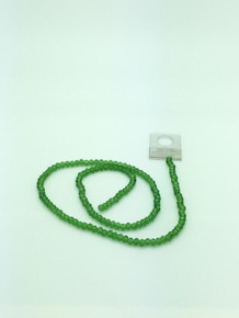 4x3mm Peridot Faceted Rondelle