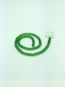 6x5mm Peridot Faceted Rondelle