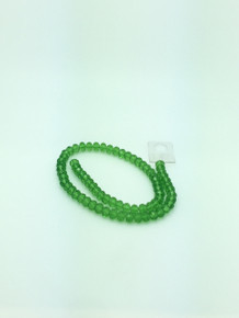 8x6mm Peridot Faceted Rondelle