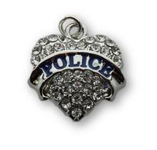 22mm Crystal Police Heart