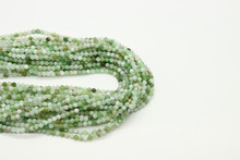 Jade, Australian 2mm Faceted Strand