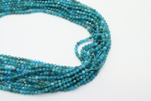 Apatite 3mm Faceted Strand