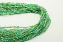Jade, Australian 3mm Faceted Strand
