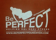 Be Perfect Window Sticker