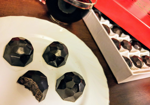 24 piece Dark chocolate truffles