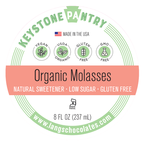 Keystone Pantry Organic Molasses label