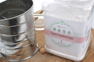 Keystone Pantry- Organic Powder Sugar 3-Lb Jar