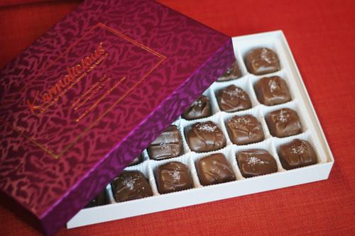 Karmalicious Milk Chocolate Sea salt caramels