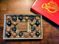Lang's Chocolates Assorted Caramel Truffles Gift Box