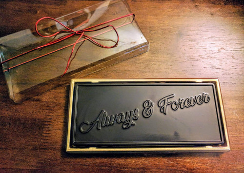 Always and Forever Chocolate Bar