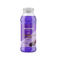 Keystone Pantry Keto Shaved Ice Syrup Grape front