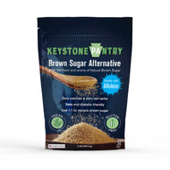 Keystone Pantry Sugar-Free Brown Sugar Substitute Made with Allulose 2lb bag front
