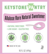 Keystone Pantry Allulose Rare Natural Sweetener 1 pint bottle main label