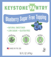 Keystone Pantry Blueberry Flavored Topping main label