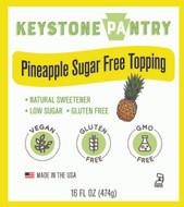 Keystone Pantry Pineapple Sugar-Free Topping main label