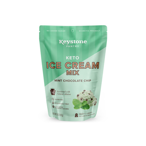 Keystone Pantry Keto Ice Cream Mint Chocolate Chip front