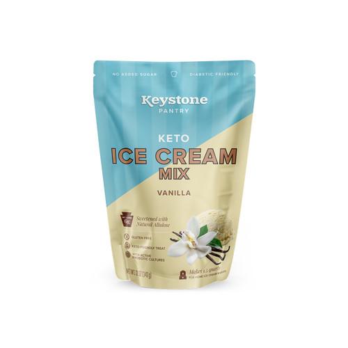 Keystone Pantry Keto Ice Cream Mix Vanilla front