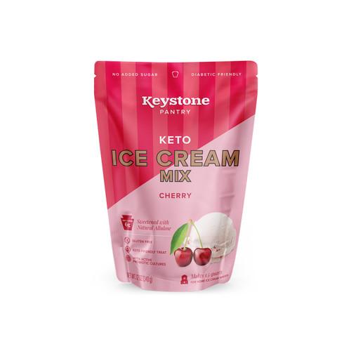 Keystone Pantry Keto Ice Cream Mix Cherry front