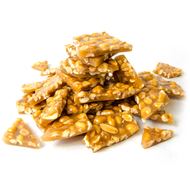 Lang's Chocolates Peanut Brittle 8oz bag