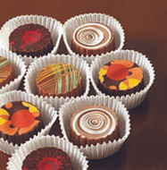 Lang's Chocolates Artisan truffles, Looks too good to eat, but you can