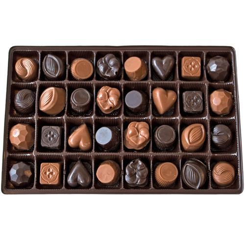 Chocolate Sampler Box | Finest Belgian & Milk Chocolates from Lang's Chocolates