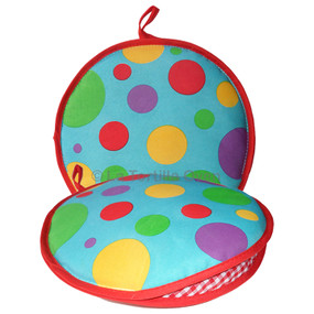 La Tortilla Oven Color Polka Dots Insulated Tortilla Warmer-Microwave Fabric Pouch