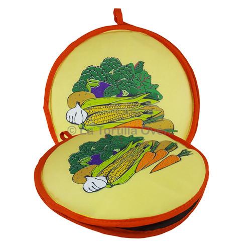 Harvest Orange Trim Tortilla Warmer