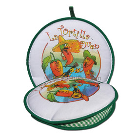 La Tortilla Oven Singing Chili Peppers Tortilla Warmer