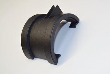 Cast Iron Effect Union Bracket for 115mm Deep Flow Gutter