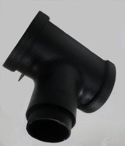 Cast Iron Effect Running Outlet for Deepflow Gutter 115mm